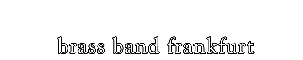 brass band frankfurt Logo